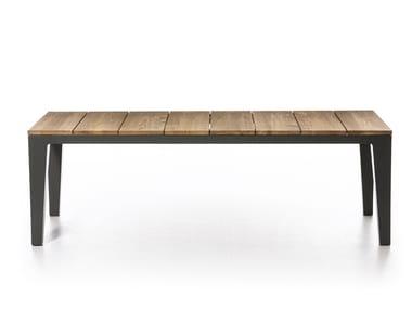 Teak garden table INOUT 143/144 | Teak table