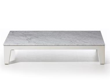 Low Carrara marble coffee table INOUT 155 | Carrara marble coffee table