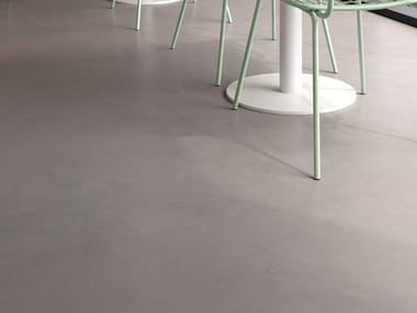 Porcelain stoneware wall/floor tiles with resin effect INSIDEART ASH