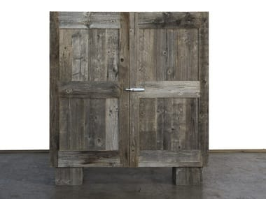 Reclaimed wood highboard INTEMPERIE | Spruce highboard