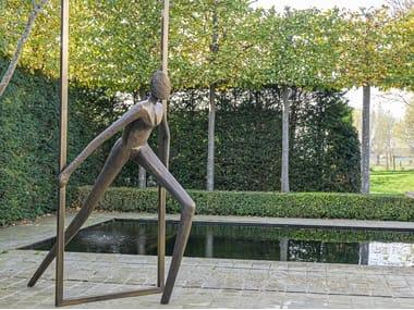 Bronze sculpture INTO FREEDOM