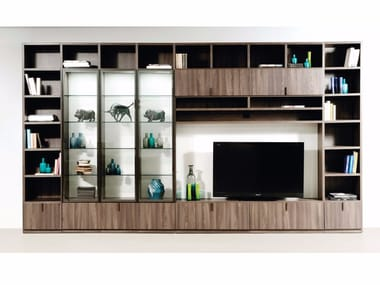 Storage walls storage systems and units archiproducts for Scavolini pareti attrezzate