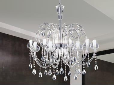 Murano glass chandelier INTRECCI 2082