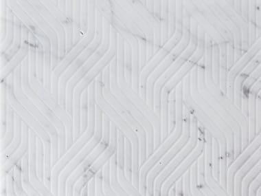 Marble wall/floor tiles INTRECCI CARRARA