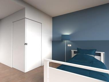 Invisible frame for corner sliding doors ARGENTA® INVISIDOOR® SDX Corner