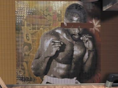 Indoor/outdoor polyurethane mosaic IOMSO