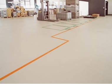 Resin industrial flooring IPM STRATOS