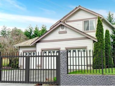Extruded aluminium Fence / gate IRENE