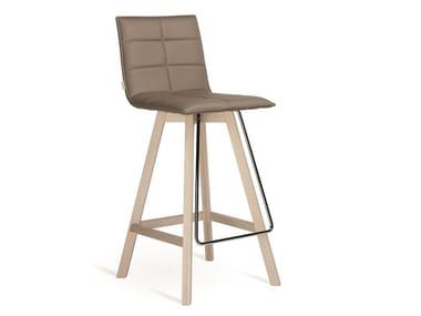 High upholstered stool IRIS | Stool