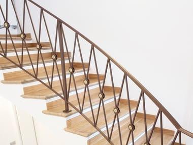 Parapetto in ferro per scale Parapetto in ferro