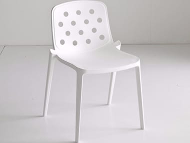 Stackable technopolymer chair ISIDORA | Chair