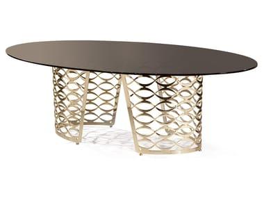 Tavolo ovale in marmo ISIDORO | Tavolo