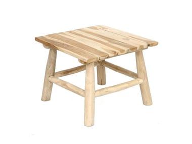 Tavolino quadrato in teak ISLAND