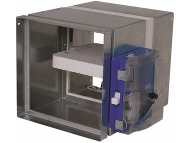 System to protect against fire penetration Rectangular ISONE+ EM