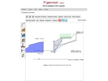 Loadbearing wall calculation iT-geo-muri