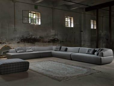 Sectional upholstered fabric sofa ITALO | Corner sofa