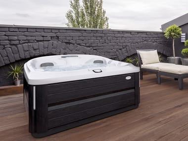 Above-ground hydromassage hot tub 5-seats J-435™
