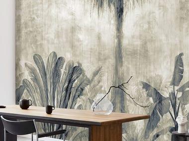 Papel de parede ecológico tropical livre de PVC JAGALA