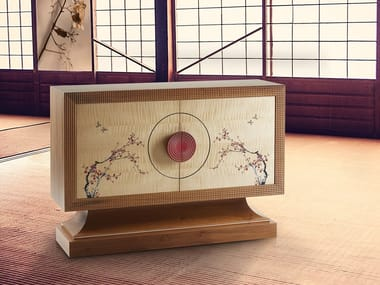 Madia con ante a battente JAPANESE CHEST OF DRAWERS