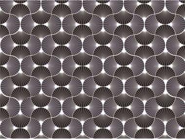 Motif optical wallpaper JAPANESE FAN