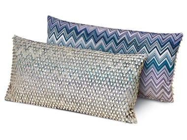 Cuscino decorativo in reps di puro cotone JARRIS JAMILENA | Cuscino rettangolare