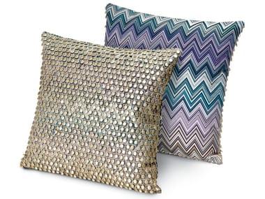 Cuscino decorativo in reps di puro cotone JARRIS JAMILENA | Cuscino quadrato