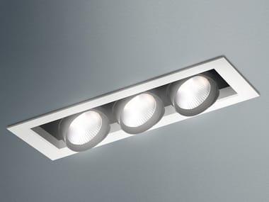 LED adjustable ceiling steel spotlight JAVA LED