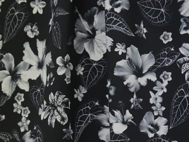 Printed cotton fabric with floral pattern JEAN PAUL GAULTIER - HONOLULU