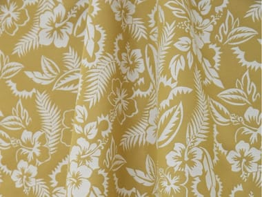 Jacquard polyester fabric with floral pattern JEAN PAUL GAULTIER - NOOREA