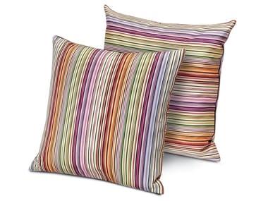 Cuscino decorativo in reps di puro cotone JENKINS | Cuscino quadrato