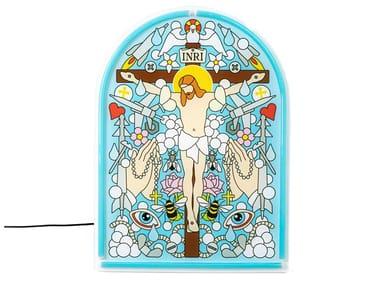 Lampada da parete a LED in acrilico JESUS