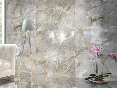 Indoor porcelain stoneware wall tiles JEWEL NEBULOSA
