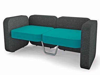 Modular fabric sofa JIM