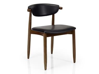 Cadeira de pele de restaurante JOANNA | Cadeira de pele