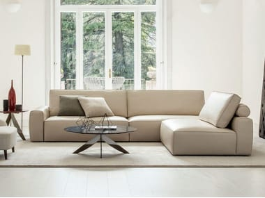 Sectional leather sofa JOHNNY | Sectional sofa