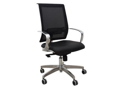 Task chair with 5-Spoke base with castors JOJO