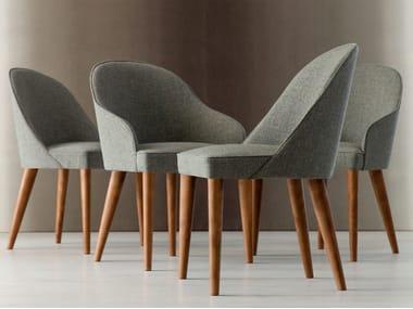 Fabric restaurant chair JUDY   Fabric chair