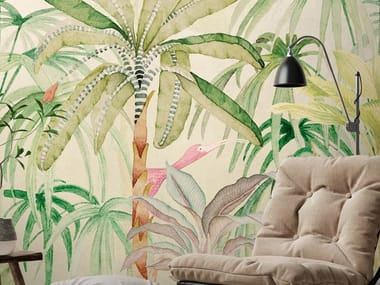 Ecological washable PVC free wallpaper JUNGLE BOOGIE