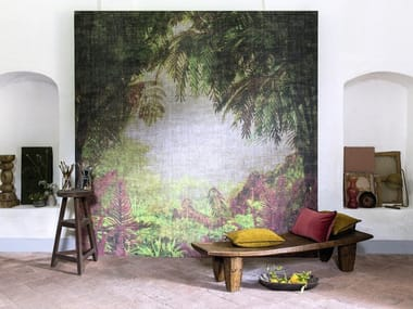 Contemporary style panoramic wallpaper JUNGLE FEVER