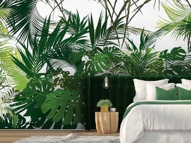 Digital printing Tropical wallpaper JUNGLE