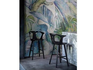Wall tiles / wallpaper JUNGLE WATERCOLOR