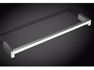 Porta asciugamani a barra in acciaio inox JUST | Porta asciugamani a barra