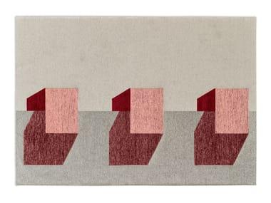 Rectangular chenille rug JUT