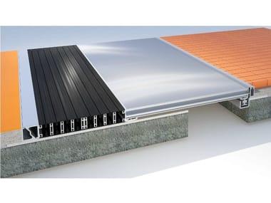 Aluminium Flooring joint K 3D