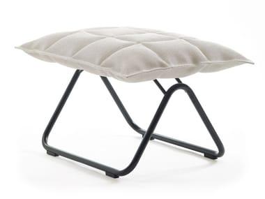 Sled base fabric footstool K CHAIR | Sled base footstool