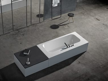 Bañera de Solid Surface KA | Bañera independiente
