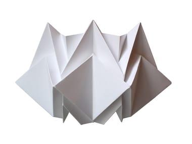 Handmade paper wall light KABE