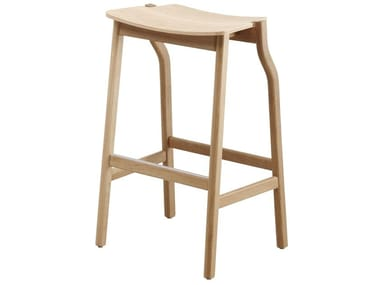 High wooden stool KALEA | Stool