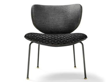 Fabric chair KALIDA LOUNGE | Chair