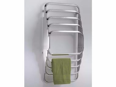 Chrome wall-mounted towel warmer KALOS 100-50